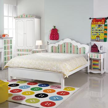 【顛覆設計】繽紛世界5尺雙人床架(不含床墊)