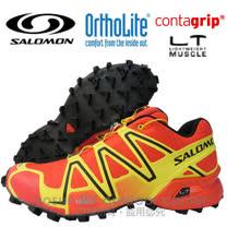 【索羅門 SALOMON】男新款 SPEEDCROSS 3 M 輕量化戶外越野跑鞋 黃/紅/黑 362089