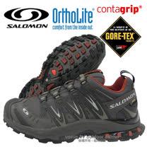 【索羅門 SALOMON】男款 XA PRO 3D ULTRA 2 Gore-Tex XCR 防水透氣越野跑步運動鞋 深灰/紅 329823
