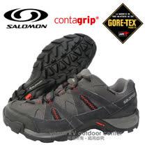 【索羅門 SALOMON】男新款 Exode Low GORE-TEX M 戶外健行鞋/越野跑鞋_灰 361672
