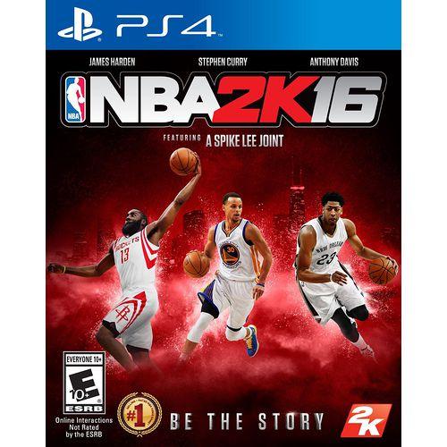 普雷伊 PS4 NBA 2K16 亞洲中文版