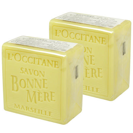 L'OCCITANE歐舒丹 媽媽保姆檸檬皂(100g)*2專櫃正品