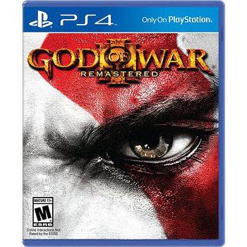 PS4 戰神 3  重製版 亞洲中文版