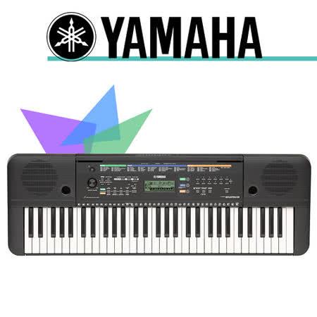 【YAMAHA 山葉】標準61鍵手提式電子琴 公司貨保固 (PSR-E253)