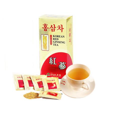 金蔘-6年根韓國高麗紅蔘茶(30包/盒 共1盒)