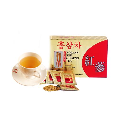 金蔘-6年根韓國高麗紅蔘茶(50包/盒,共3盒)加贈蔘芝王2瓶