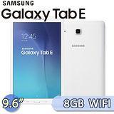 Samsung GALAXY Tab E 8GB WIFI版 (SM-T560) 9.6吋 四核心平板電腦【送平板專用皮套+平板保護貼+平板支架+USB隨身燈+電容觸控筆】