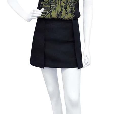 GUCCI 棉質短裙(黑色/44號)