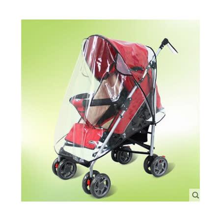 *兒童外出好幫手*便型嬰兒手推車遮雨罩/防風罩 (環保無毒/透明防水透氣)