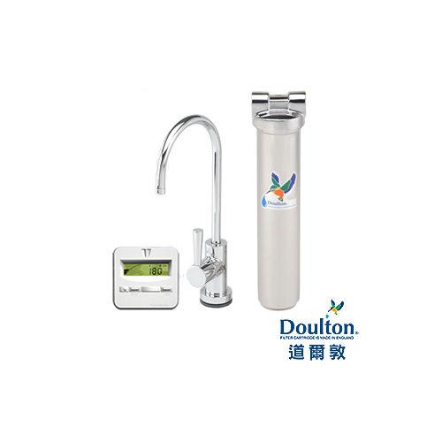 ~DOULTON英國道爾敦~陶瓷濾芯顯示型單管不鏽鋼櫥下型淨水器 HIS~M12