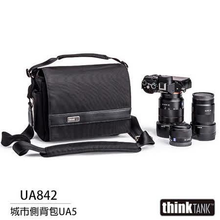 【結帳再折扣】thinkTank 創意坦克 城市側背包 Ubran Approach 5 斜背包 相機包 UA842 (彩宣公司貨)