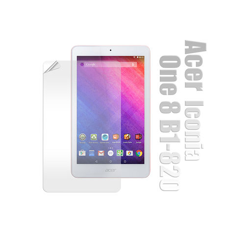 Acer 宏碁 Iconia One 8吋 B1-820 高透光亮面耐磨保護貼