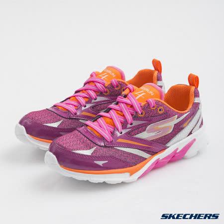 SKECHERS (童) 女童系列 GO Run 4 - 80653LHPOR