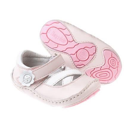 美國 Rileyroos 真皮手工鞋/學步鞋/童鞋/寶寶鞋/嬰兒鞋_卡莉鞋 淡粉色