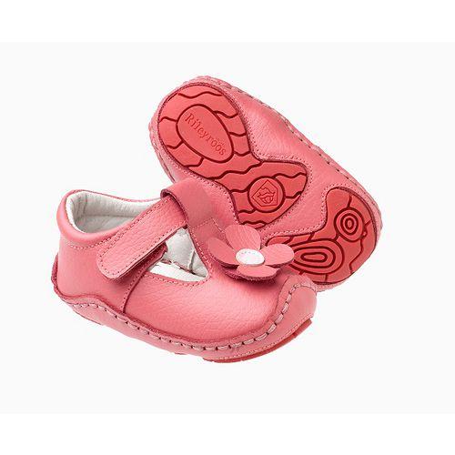 美國 Rileyroos 真皮手工鞋/學步鞋/童鞋/寶寶鞋/嬰兒鞋_加布里亞 玫瑰粉