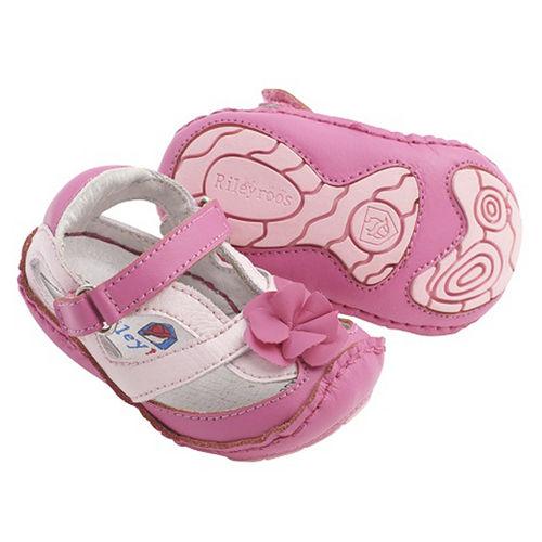 美國 Rileyroos 真皮手工鞋/學步鞋/童鞋/寶寶鞋/嬰兒鞋_艾莉森 輕柔淡粉