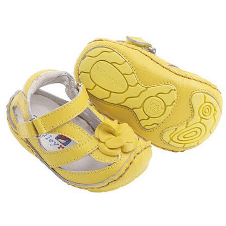 美國 Rileyroos 真皮手工鞋/學步鞋/童鞋/寶寶鞋/嬰兒鞋_艾莉森 陽光向日葵