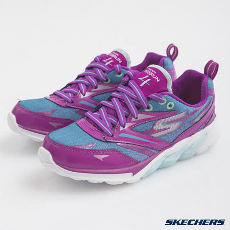 SKECHERS (童) 女童系列 GO Run 4 - 80653LPRBL