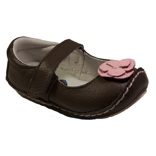 美國 Rileyroos 真皮手工鞋/學步鞋/童鞋/寶寶鞋/嬰兒鞋_費歐納 咖啡色