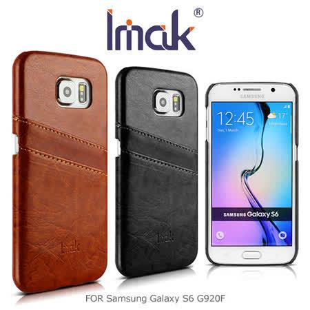 IMAK Samsung Galaxy S6 G920F 睿智後插卡保護殼