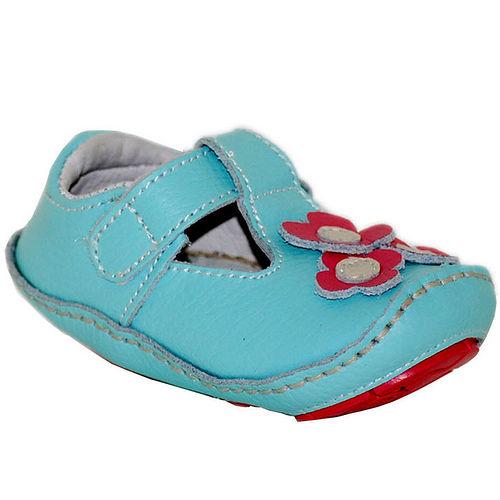 美國 Rileyroos 真皮手工鞋/學步鞋/童鞋/寶寶鞋/嬰兒鞋_卡普里 小雛菊