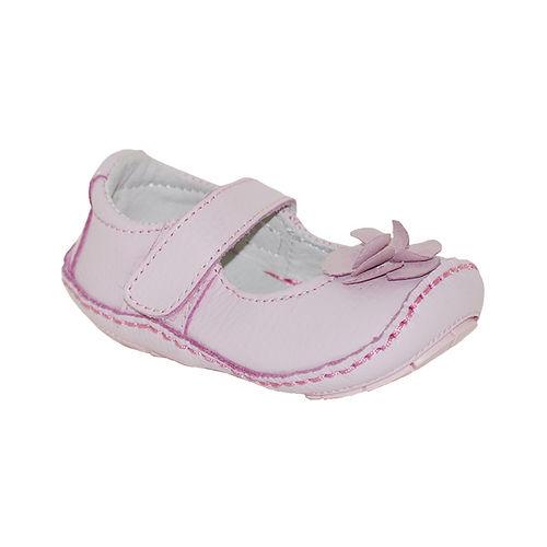 美國 Rileyroos 真皮手工鞋/學步鞋/童鞋/寶寶鞋/嬰兒鞋_費歐娜 清柔粉