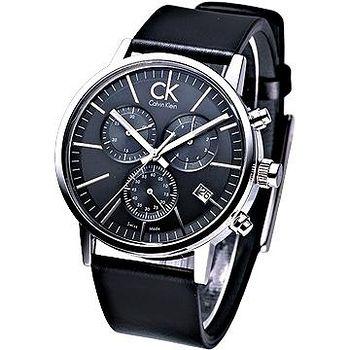CK post-minimal 極簡系列 三眼計時 腕錶