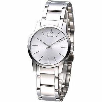 CK 經典時尚仕女腕錶- 鋼帶款(K2G23126)