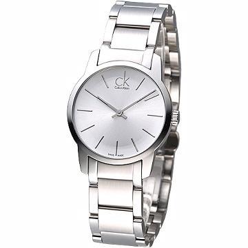 CK  仕女腕錶~ 鋼帶款^(K2G23126^)