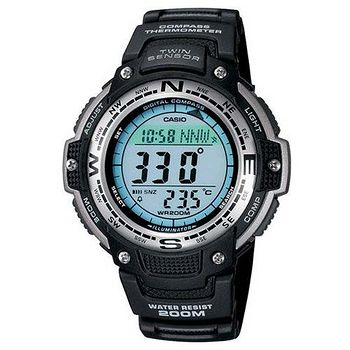 CASIO SPORTS 極限武士數位羅盤 運動錶