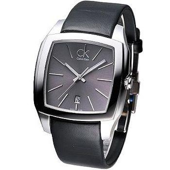 CK Recess 新雅爵個性時尚腕錶 (鐵灰)