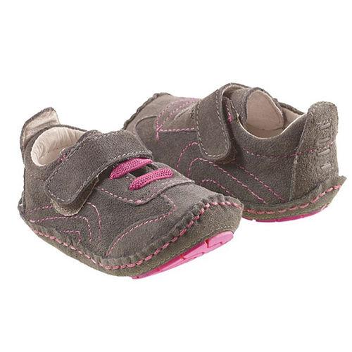 美國 Rileyroos 真皮手工鞋/學步鞋/童鞋/寶寶鞋/嬰兒鞋_愛佛瑞 冰粉紅鞋