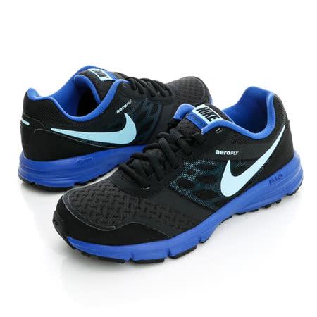 NIKE (女)Wmns Air Relentless 4 MSL 慢跑鞋-黑藍-685152013