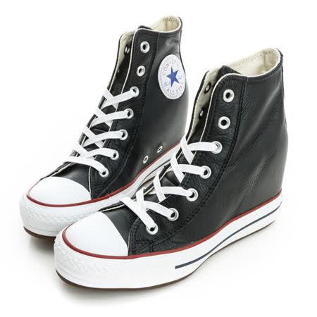 CONVERSE (女)Chuck Taylor All Star Platform Plus 休閒鞋(高統)-黑-544926C