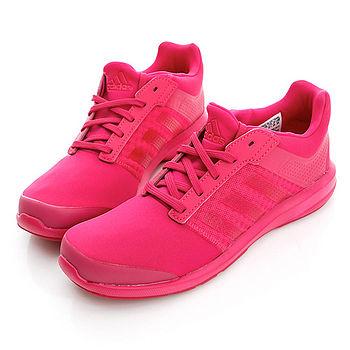 Adidas (女)S-Flex K 慢跑鞋-桃紅-B23821