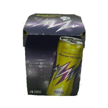 康貝特 活力爆發能量飲料225ml*4入
