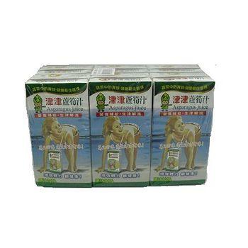 津津蘆筍汁300ml*6入