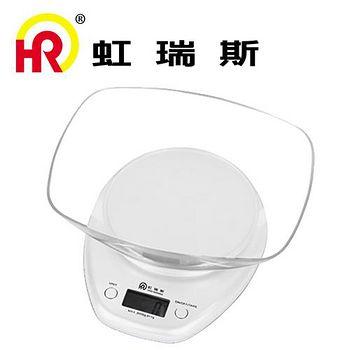 Home Resource虹瑞斯 銀彩食物料理秤SCA-002 顏色隨機出貨