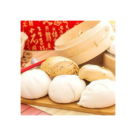 【花蓮吳媽媽包子專賣店】蔥燒包(5個/入)