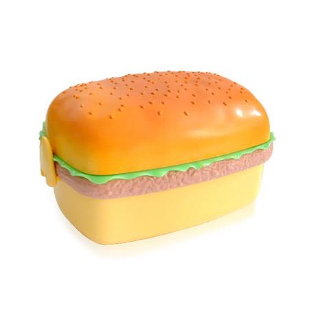 【iSFun】美味漢堡*三層便當盒