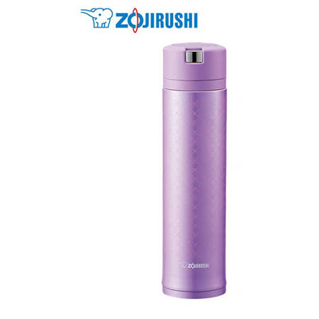 『ZOJIRUSHI』 ☆ 象印 0.6L 易開式Quick Open不鏽鋼真空保溫杯 SM-XA60