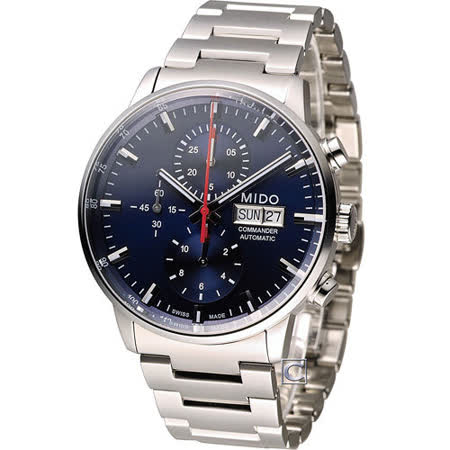 美度 MIDO Commander 指揮官計時機械錶 M0164141104100