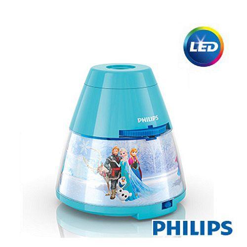 【飛利浦 PHILIPS】迪士尼魔法燈-LED投影燈- 冰雪奇緣(71769)