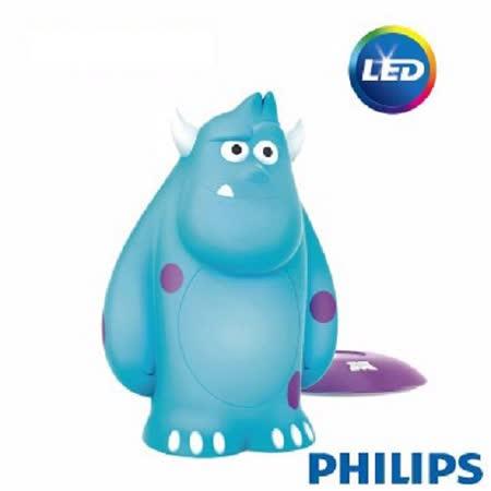 【飛利浦 PHILIPS】迪士尼LED可攜式床邊燈-毛怪 71705