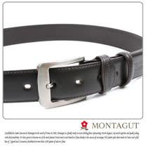 MONTAGUT夢特嬌-二層牛皮 針扣皮帶M894008