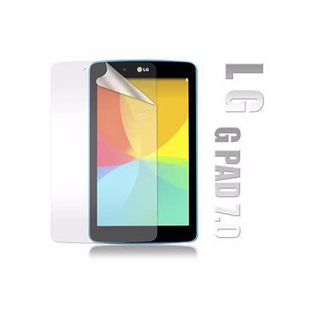 LG G Tablet 7.0 / LG G Pad 7.0 V400 高透光亮面耐磨平板保護貼