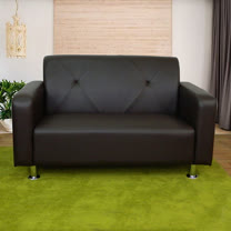 HAPPYHOME 東京都會風二人座鐵腳沙發ZU5-2-2T四色可選