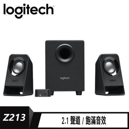 Logitech 羅技 Z213 2.1聲道喇叭