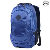 【GMT 挪威潮流品牌】專業電腦背包 深藍 附15吋筆電夾層;登山包/雙肩背包