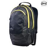 【GMT 挪威潮流品牌】專業電腦背包 黑色 附15吋筆電夾層;登山包/雙肩背包